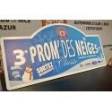 Plaque Prom' des Neiges