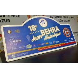 Plaque Rallye Jean Behra Historique