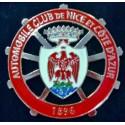 Badge de calandre en métal