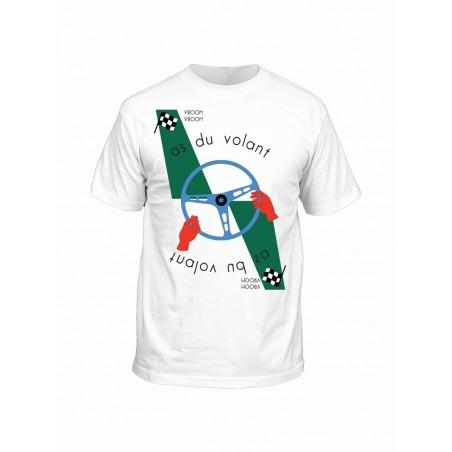 T-shirt As du volant Vroomer