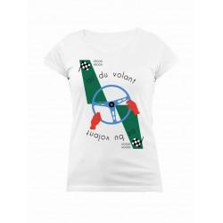 Tee-Shirt As du Volant Femme