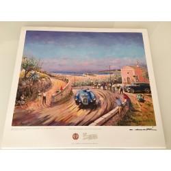 Affiche Rallye Jean Behra Historique 2014